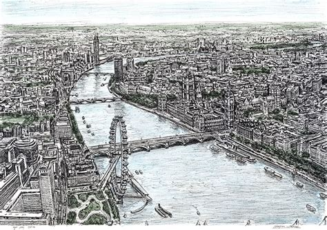 highly detailed cityscape sketches by stephen wiltshire