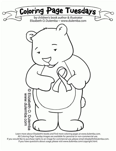 coloring pages for ribbon week free ribbon week coloring pages coloring home