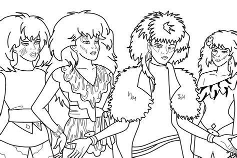 misfits coloring pages coloring pages