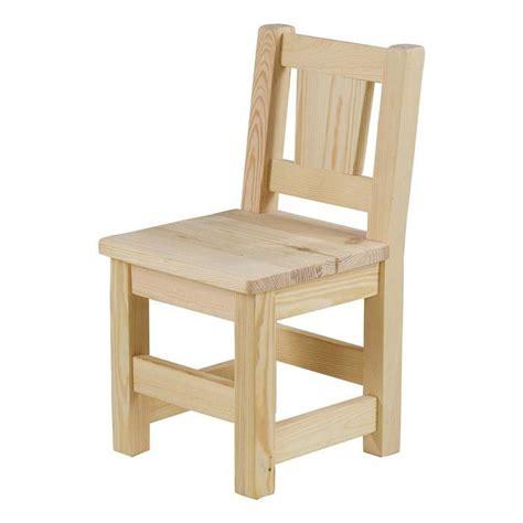 chaise en bois enfant chaise enfant pin massif brut lot de 2 mate achat