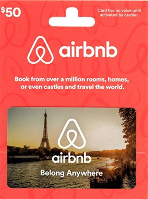 Gift Cards Free Shipping - 50 airbnb gift card 40 free shipping amazon lightning deal slickdeals net