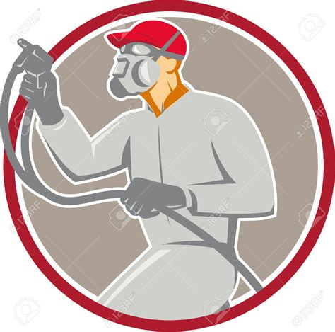 spray painter clipart spray paint gun clipart 61