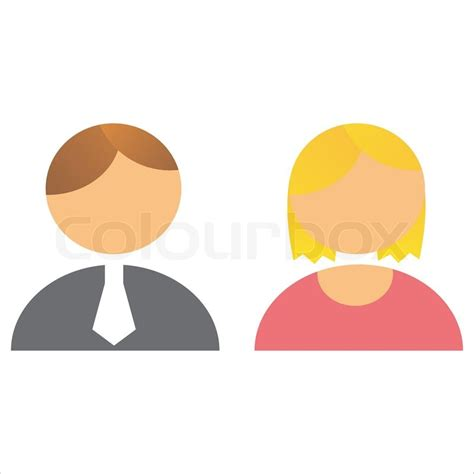 satz 2 personen icons stock vektor colourbox - Almhütte 2 Personen