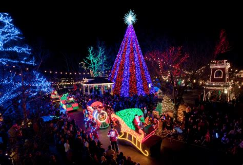 best christmas lights in kcmo branson missouri s silver dollar city named to national top 10 light displays sippy cup
