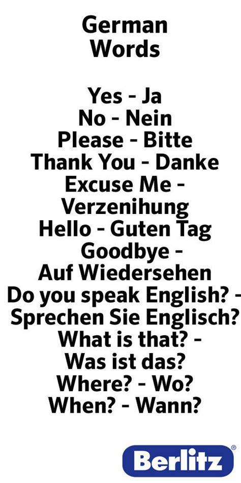 german words    pinterest