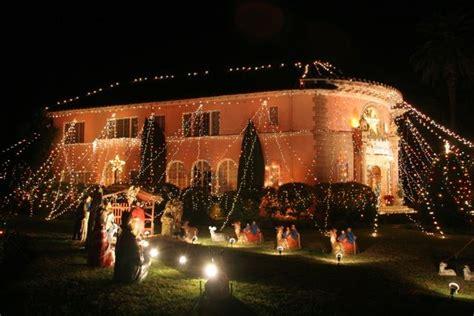 san marino xmas tree lane lights on house st albans road in san marino similar to tree