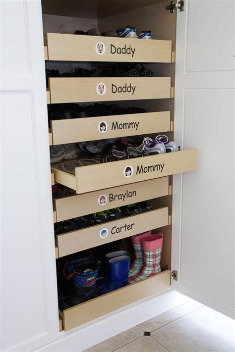Mudroom Addition by 20 Shoe Storage Cabinets That Are Both Functional Amp Stylish