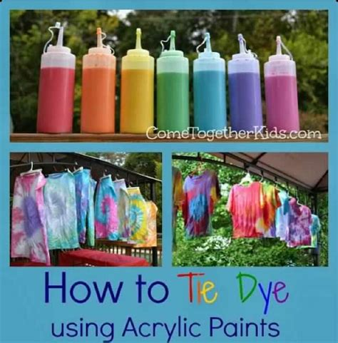 acrylic paint hair dye tye dye with acrylic paint musely