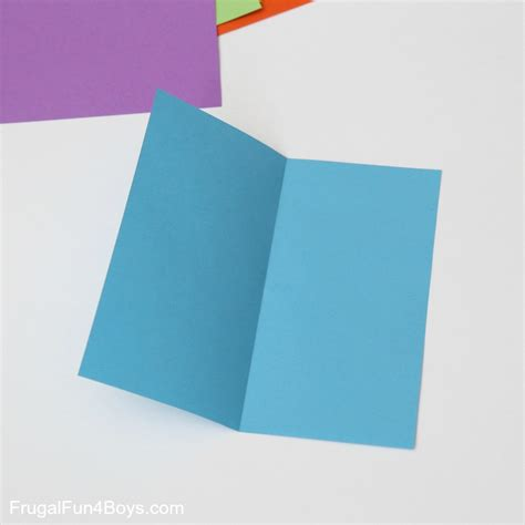 Folding Paper Cube - how to fold origami paper cubes frugal for boys and
