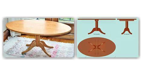Oval Coffee Table Plans Oval Coffee Table Plans Woodarchivist