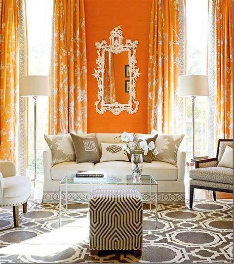 orange living room curtains orange curtains contemporary living room decor