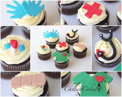 17 Best Images About Doctors Day On Pinterest Cupcake Doctor Themed Cupcakes