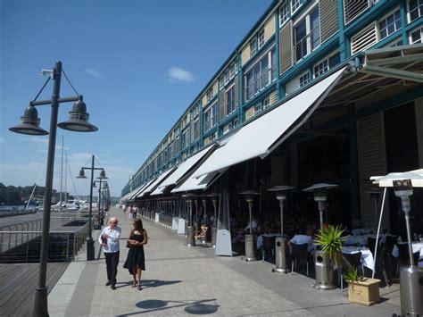 folding arm awnings sydney folding arm awnings sydney at woolloomooloo wharf