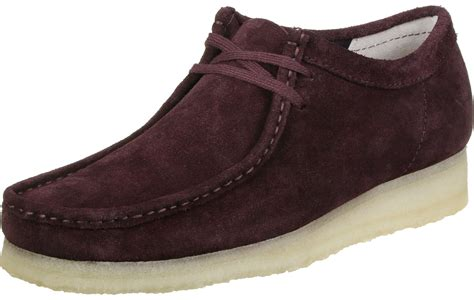 wallabees shoes clarks wallabee shoes maroon