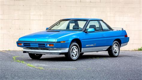 Subaru Xt Turbo by 1985 87 Subaru Xt 4wd Turbo America 1985 87