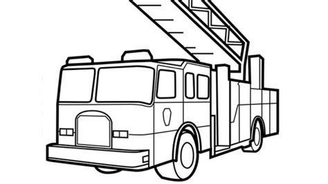 preschool coloring pages trucks get this preschool fire truck coloring page to print 28189