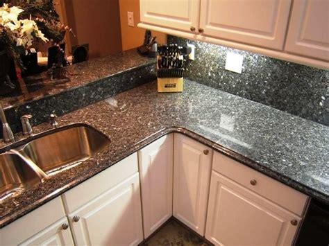 blue pearl countertops traditional kitchen atlanta