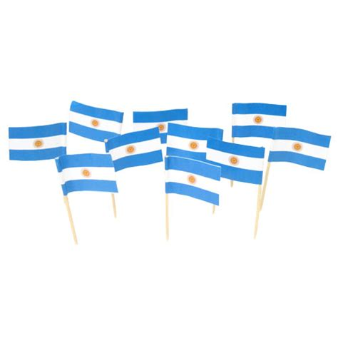 decorations in argentina argentinian flag toothpicks argentina theme