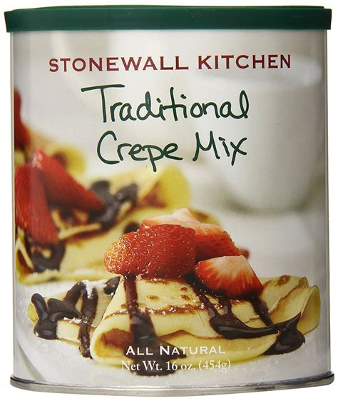 Stonewall Kitchen Free Shipping by Stonewall Kitchen Traditional Crepe Mix 16 Ounce New