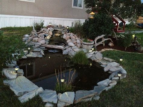 front yard fish pond for the home pinterest gardens fish pond gardens and yards