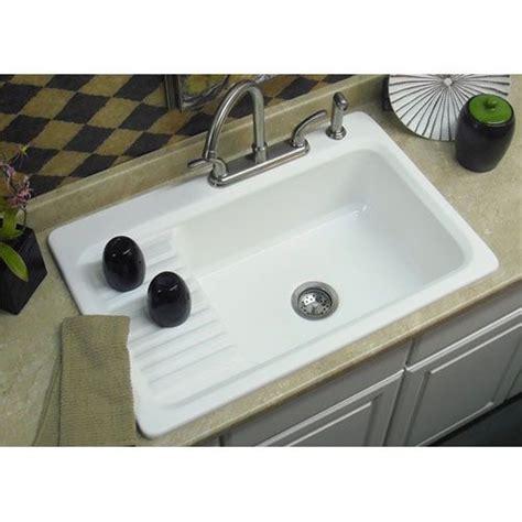 matte white double basin acrylic kitchen sink corstone