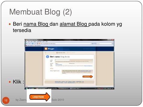 membuat blog pdf belajar membuat blog