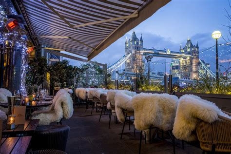 Le Pont De La Tour Bar And Grill by Top 5 Winter Terraces In Just Opened
