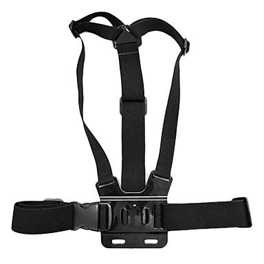 Tmc Qr Buckle For Gopro Xiaomi Yi 2 4k Hr215 1pcs Hitam tmc chest belt with release buckle for gopro