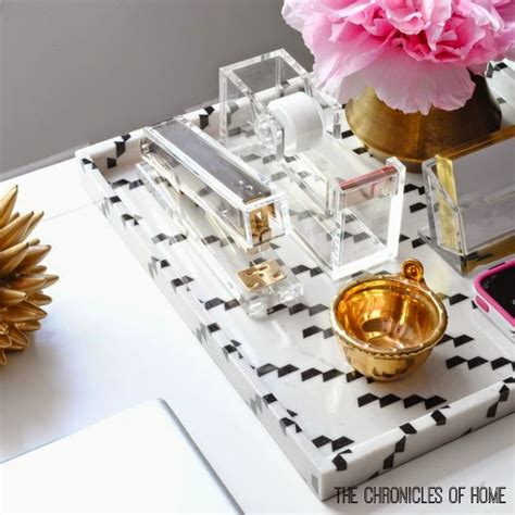 acrylic gold desk accessories the prettiest desk accessories around the chronicles of home