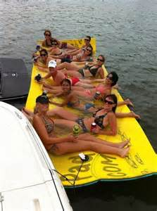 6 x 18 aqua pad floating mat for lake