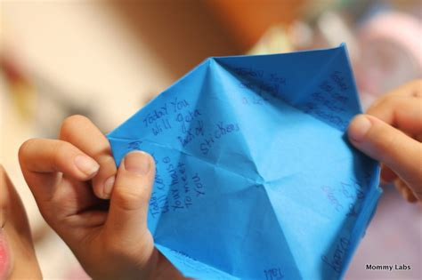 what to write inside a paper fortune teller origami fortune teller learning and affirmations