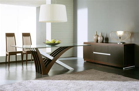 Modern Dining Room Buffet by Attractive Decor With A Modern Dining Room Sets