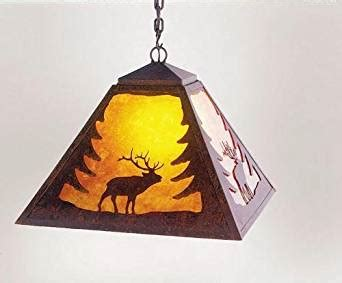 forged in ember kindle store wapiti elk swag foyer pendant light fixtures