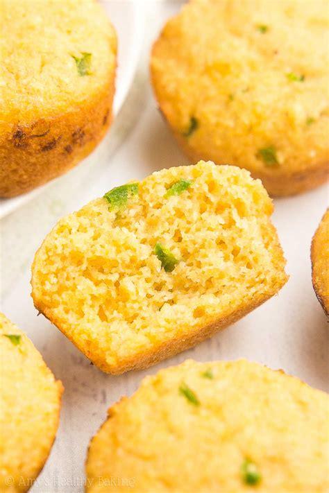 corn mini muffins healthy jalape 241 o cheddar cornbread mini muffins s healthy baking