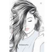 Art Black And White Colors Drawing Fashion  Image