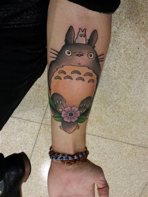 totoro tattoos designs ideas and meaning tattoos for you
