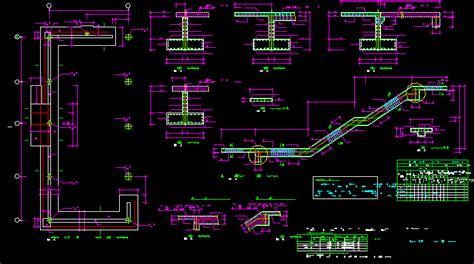 plans foundation details dwg plan  autocad designs cad