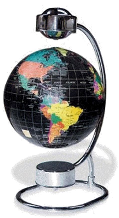spinning globe desk toy the levitating floating globe