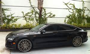 audi a7 2015 tuning black