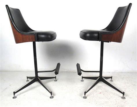 mid century modern bar stools at 1stdibs