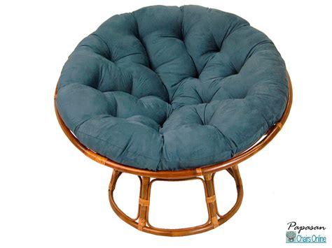 Home papasan chairs 42 quot single papasan chair with micro suede cushion