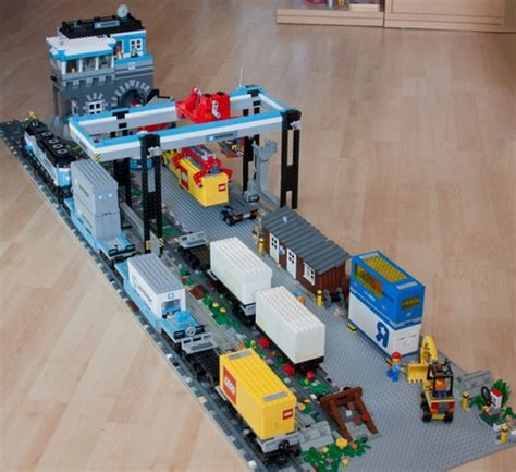 lego boat repair shop anleitung container terminal a lego 174 creation by andreas grgel