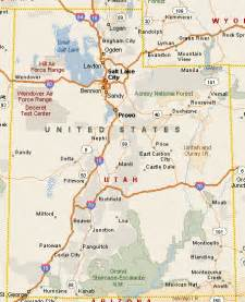 Utah Map With Cities by State Of Utah Map