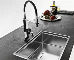 Sink Design Kitchen Franke Centinox Stainless Steel Sink With Spray Jet Swivel