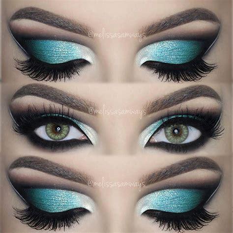 Eyeshadow Blue samways 187 archive 187 dramatic aqua blue cut