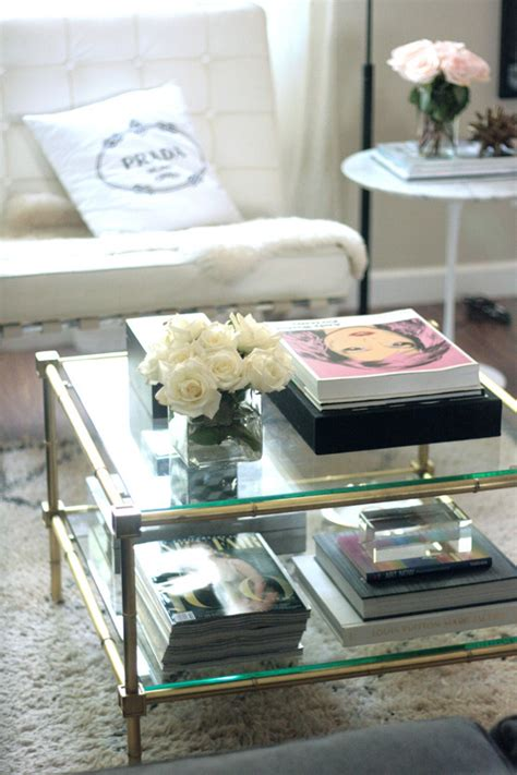 coffee table styling how to style a coffee table erika brechtel