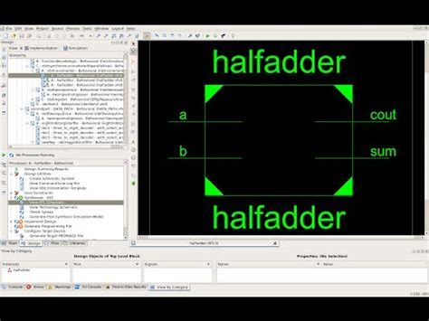 test bench for full adder xilinx ise 1 bit full adder doovi