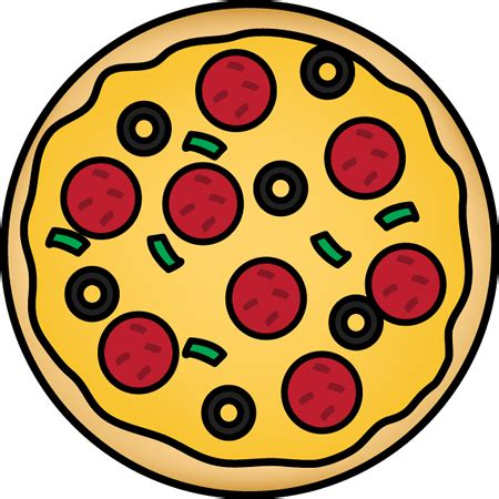 clipart pizza whole pizza clip whole pizza image