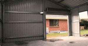Slimline Shed With Roller Door by For Cheap Sheds In Perth Contact Superior Sheds Today