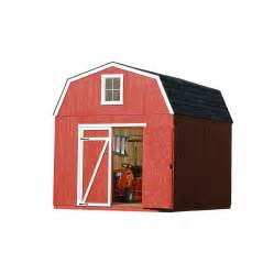 heartland estate 10 ft x 12 ft engineered wood storage